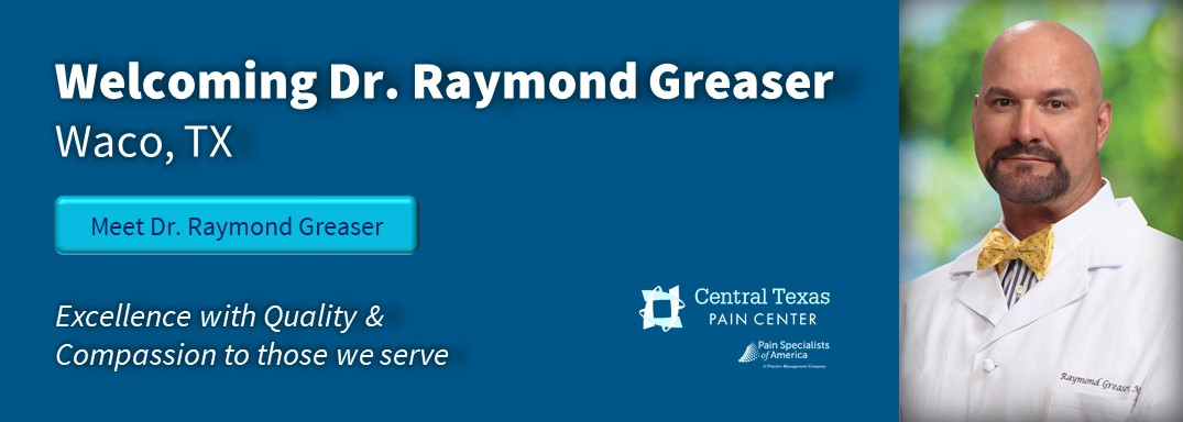 PSA Welcome Dr. Raymond Greaser